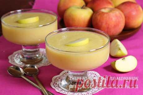 Желе из яблок без сахара, рецепт с фото пошагово