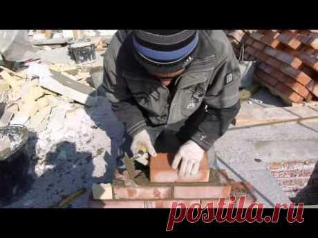 wooden lath for a laying кирпича.быстро!просто!удобно!чисто!nivok111 - YouTube