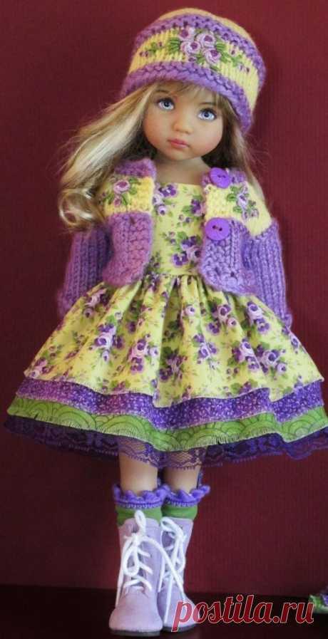 Суперские идеи для кукольной одежды - Сам себе волшебник