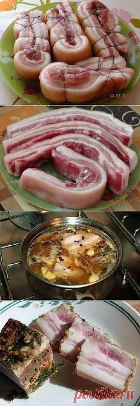 Сало варенное в луковой шелухе, готовлю по этому рецепту сало несколько лет и всегда получается-объедение!