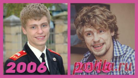 """Как изменились актеры """"Кадетство"""" тогда, в 2006, и какими стали сейчас, спустя годы?"""