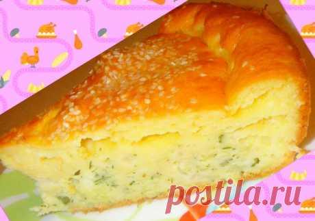 Капустный пирог на сметане - самый вкусный рецепт этого пирога | уДачные советы | Яндекс Дзен