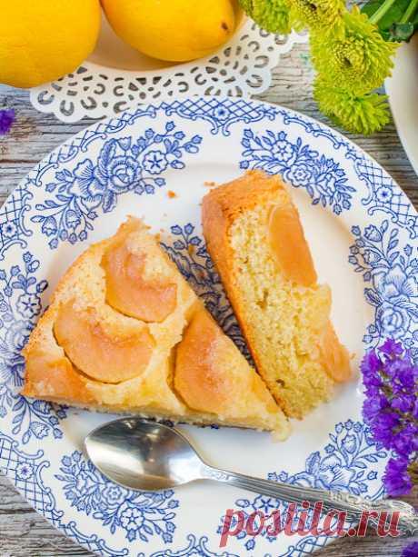 Рецепт Яблочный пирог-перевертыш в гриле на Вкусном Блоге