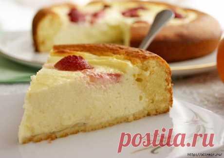 Обалденно нежный Пирог-ватрушка!