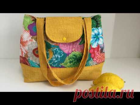 Coudre un sac D'été Tuto Couture Madalena