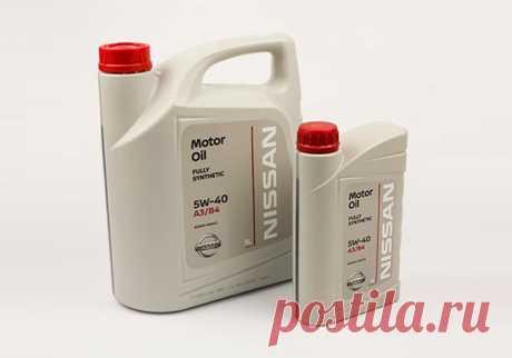 Моторное масло Nissan 5W-40: описание, применение, достоинства