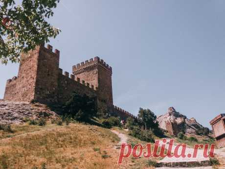 Крым. Что посмотреть в Судаке? Генуэзская крепость... | Crimchane ➭ Travel | Яндекс Дзен