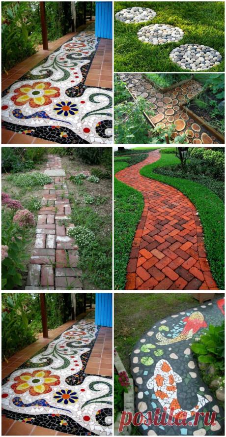 Идеи для красивых садовых дорожек | Мой дом
