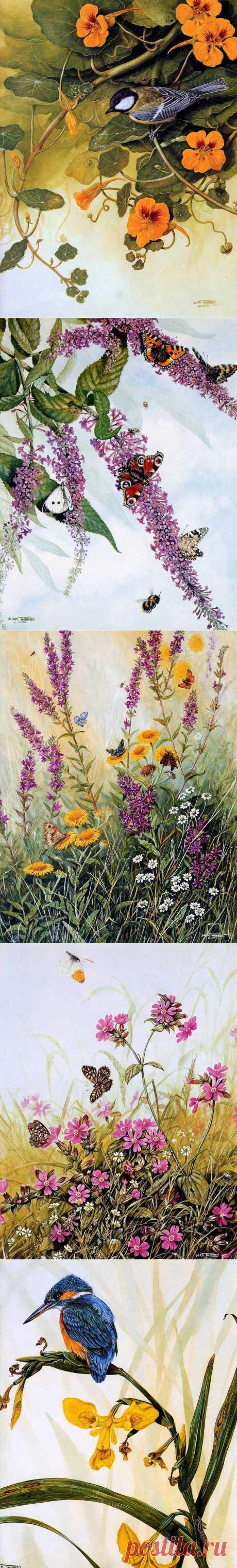 Twinney, Дик Жизнь среди цветов.....