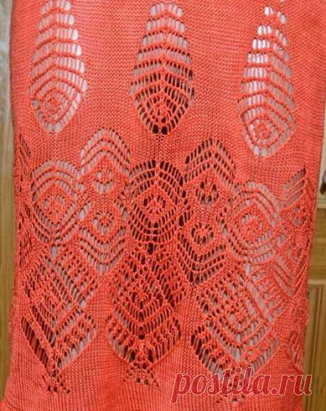 Два сказочно красивых платья спицами — САМОБРАНОЧКА рукодельницам, мастерицам