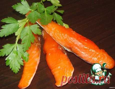Вяленая семга – кулинарный рецепт