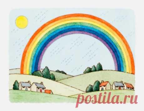 ¡Hacemos el arco iris por las manos!