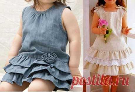 Детское платье. Выкройки от 1 до 10 лет (Шитье и крой) — Журнал Вдохновение Рукодельницы