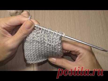 Тунисское вязание. Мои наблюдения. Резинка 2Х2