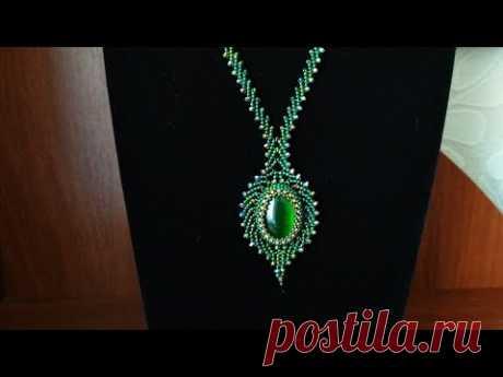 Necklace. Кулон с петербургской цепочкой