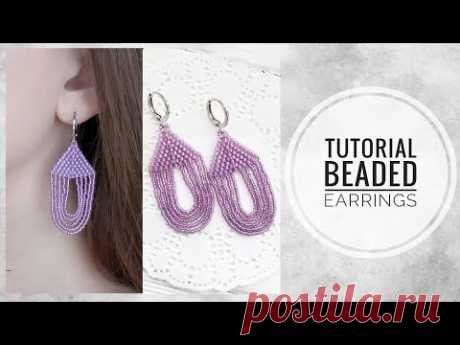 #МК - Серьги из бисера своими руками | #Tutorial - Beaded earrings with your own hands