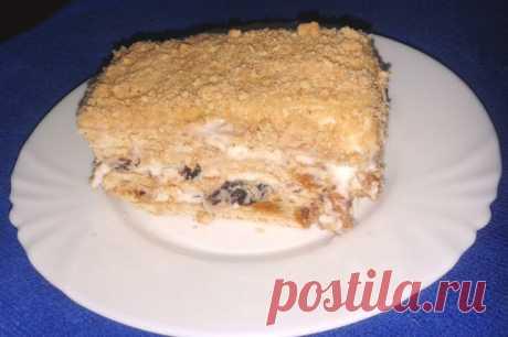 На кухне: Торт из печенья без выпечки