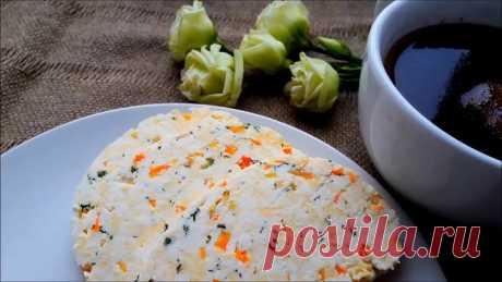 Домашний сыр за 20 минут. Домашний сыр с перцем и зеленью. Вкусно, быстро, не до