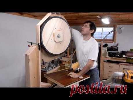 Big bandsaw build 6: Enclosure, milling a log