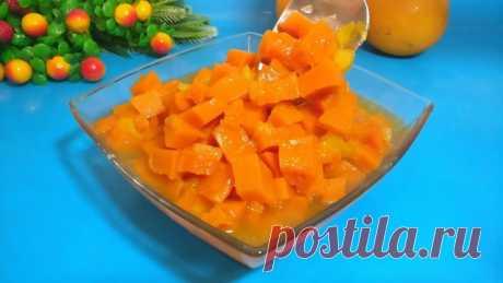 Манго из тыквы: невероятный десерт из тыквы – пошаговый рецепт с фотографиями