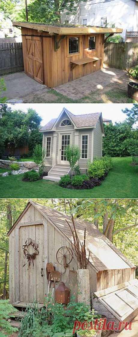 Сарай для дачи | Мой Сад и Дом
