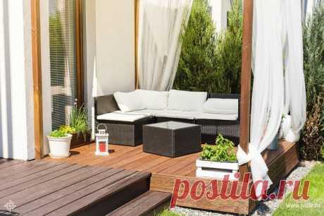 Дизайн террасы на даче: примеры планировки и оформления с фото | Высоцкая Life
