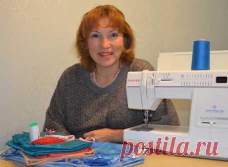 Галия Злачевская. Автор уникальной методики конструирования одежды.