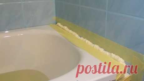 6 способов: Чем надежно заделать щель на стыке ванной и стены — Мой город