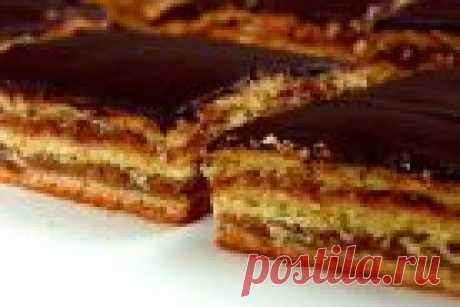 Zherbo pie cake - the step-by-step recipe from a photo on Повар.ру