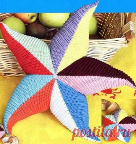 Декоративные подушки «Морская звезда»