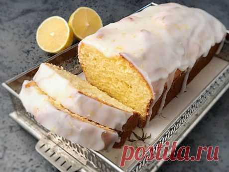 Творожно-лимонный кекс   Блог кондитера YellowMixer.com