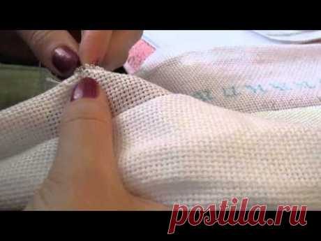 Вышивка бисером:  способ вышивки на руках (без рамы)