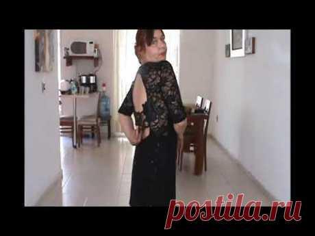 Переделка старых платьев в эксклюзивные - YouTube