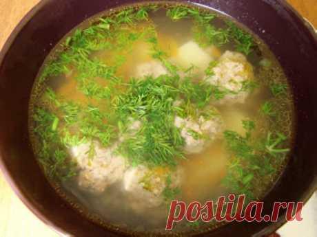 Суп с фрикадельками | Русская кухня