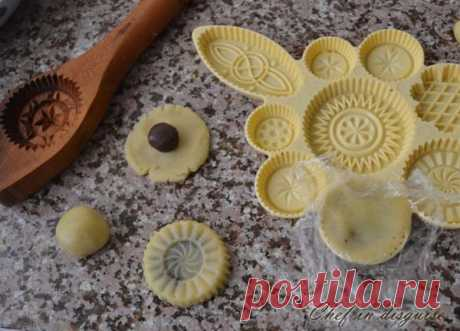 Semolina Ma'amoul: stuffed cookies with dates and nuts – Chef in disguise