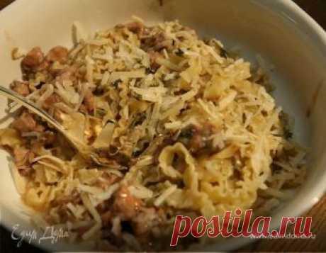 Макароны с рагу из кролика. Ингредиенты: паста, кролик, бекон Рецепт приготовления Макароны с рагу из кролика, готовим вкусно и полезно 👍 рецепт с фото на сайте EdimDoma; Рецепты edimdoma, бесплатные рецепты, варить, тушить, вкусная паста, детское меню