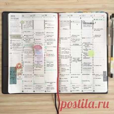 Jibun Techo weekly spread by ig@peace.journal