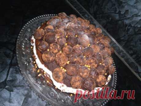 Торт Гран Трюфоль или С Днем Рождения, Светик *ма-ма*!!! пошаговый рецепт с фотографиями