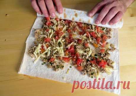 (5) Не готовьте сегодня пока не посмотрите этот рецепт / Рулет из лаваша - пошаговый рецепт с фото. Автор рецепта Другая Кухня-Валерия . - Cookpad