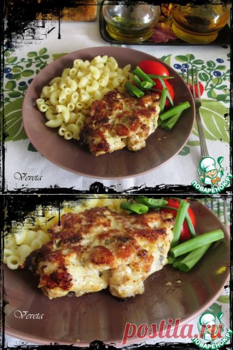 Екатерининские котлеты с грибами - кулинарный рецепт