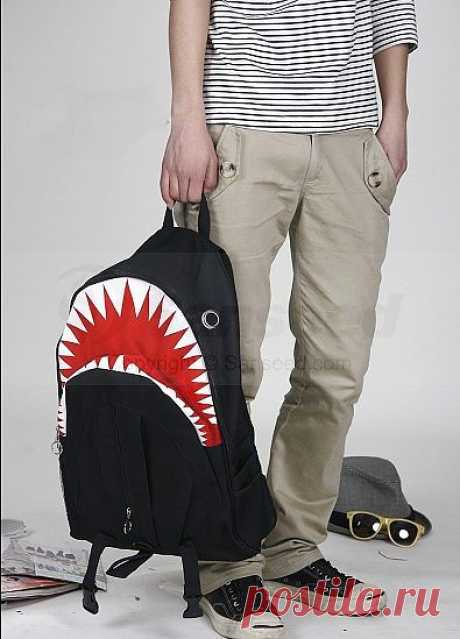 Рюкзак с зубами / Сумки, клатчи, чемоданы / ВТОРАЯ УЛИЦА
