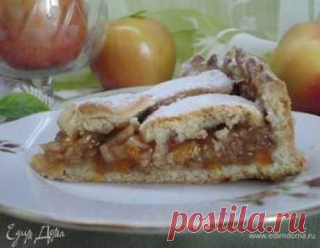 Берлинский яблочный пирог. Ингредиенты: мука 1 сорт, разрыхлитель, соль морская