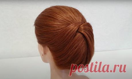 3 варианта причёсок на скорую руку