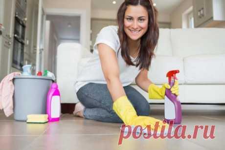 5 способов облегчить уборку в доме — Полезные советы