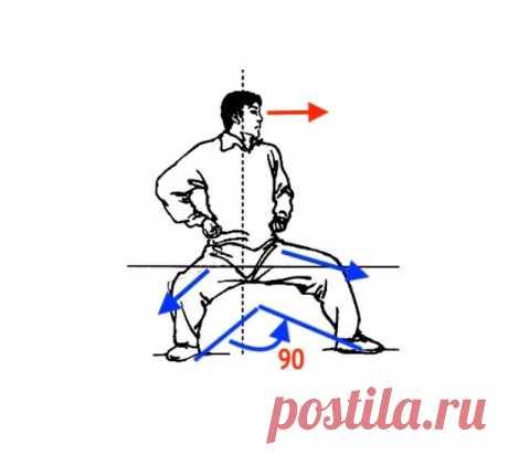 Упражнение для коленного сустава: колено движется вперёд!   Главврач   Яндекс Дзен