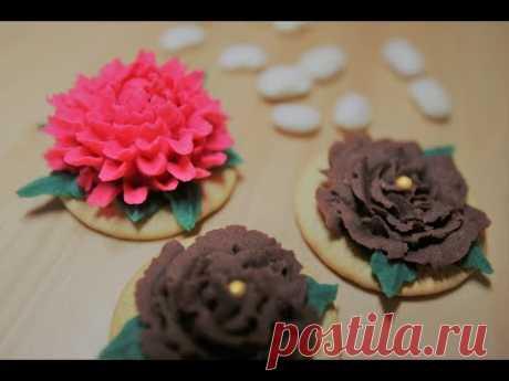 Широан*Сладкая паста-крем из белой фасоли*Shiroan*sweet bean paste for flower piping