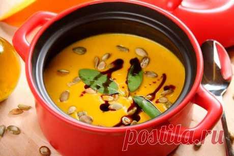 тыквенный суп в домашних условиях – пошаговый рецепт с фото.