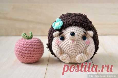 Амигуруми Ежик, схема вязания игрушки / Схемы вязания игрушек / Бэйбики. Куклы фото. Одежда для кукол