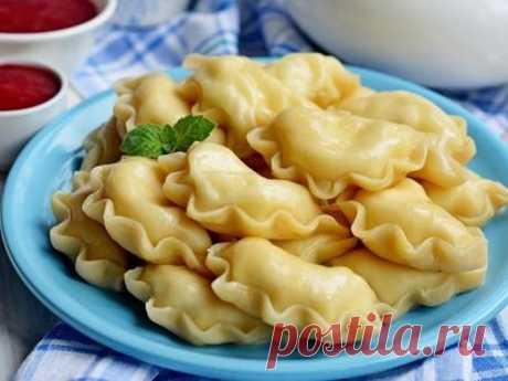 Рецепт - тесто на вареники заварное - Вторые блюда - Smak