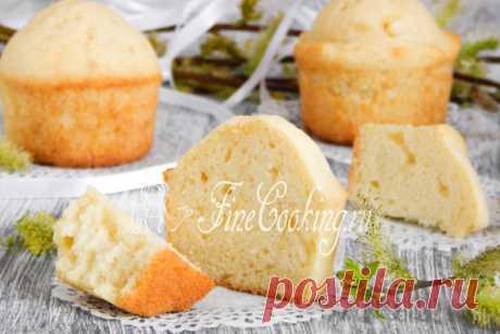 Простые кексы в формочках - рецепт с фото